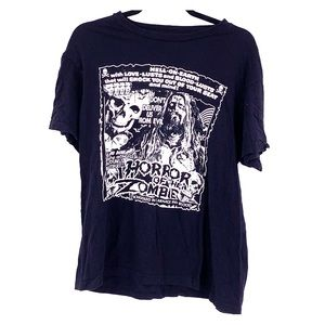 Vintage rob zombie 2016 tour t shirt size large